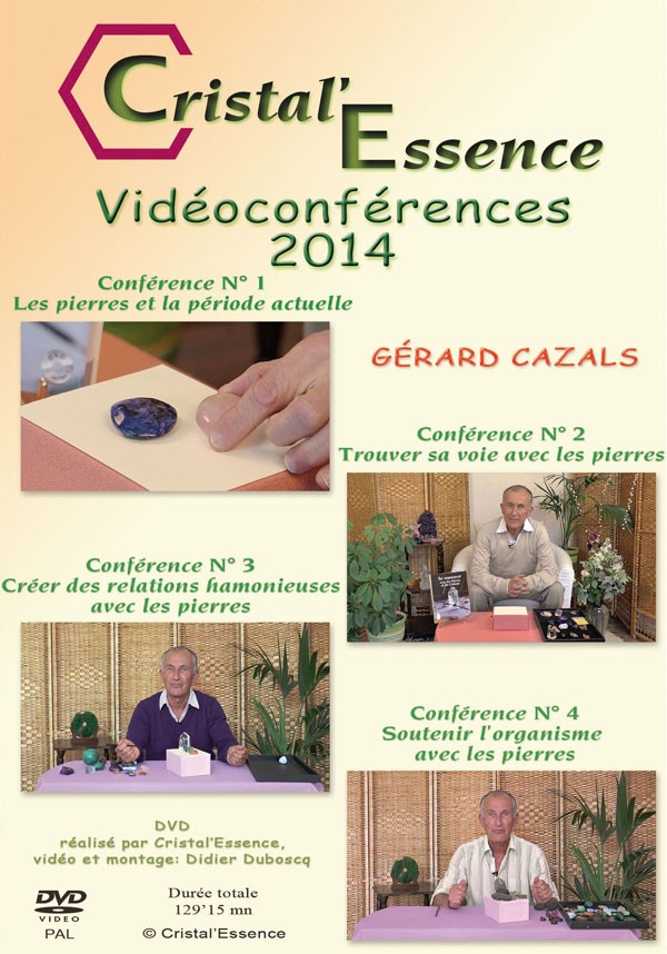Le DVD  des 4 conférences 2014
