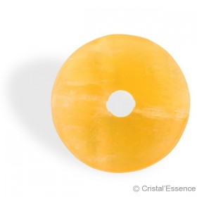 Calcite orange, donut