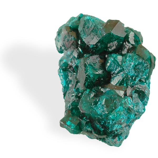 Dioptase, cristaux gros