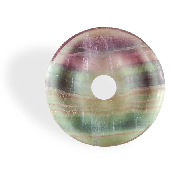 Fluorite multicolore, donut
