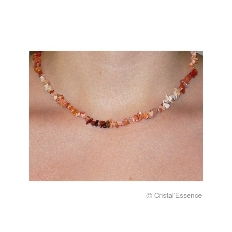 Opale de Feu, collier baroque