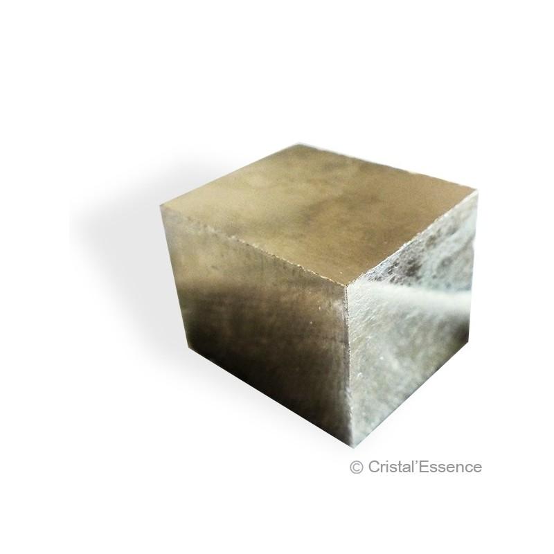 Pyrite, cristal cubique