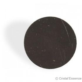 Shungite, pastille ronde pour tablette