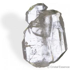 Cristal de roche du Pakistan, cristal à âme