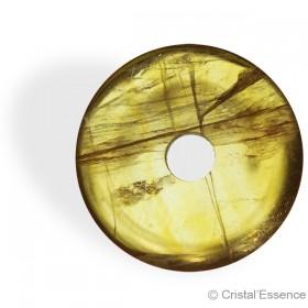 Fluorite jaune, donut