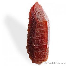 Quartz Rouge, cristal