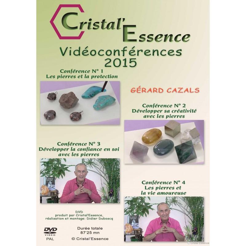 DVD  des 4 conférences 2015 bis