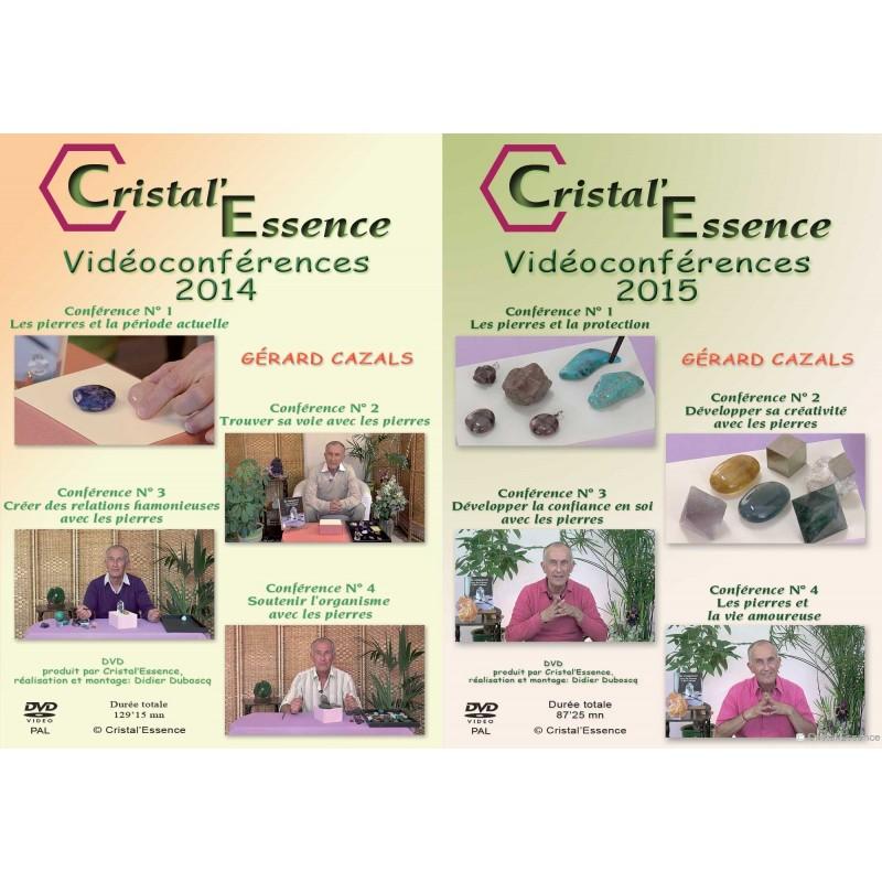 Les 2 DVD  de 4 conférences