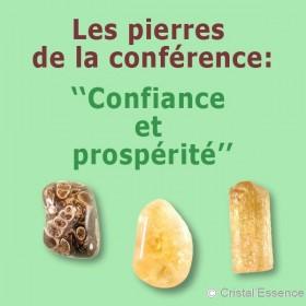 Les pierres de la confiance et la prospérité