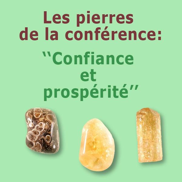 Les pierres de la confiance et la prospérité ODF