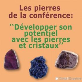 Developper son potentiel avec les pierres et cristaux