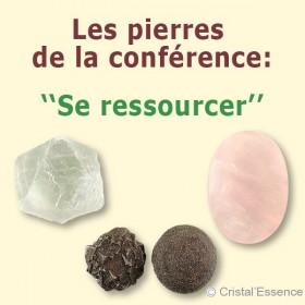 ressourcer avec les pierres et cristaux