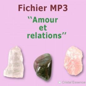 Amour et relations : le rôle des pierres et des cristaux