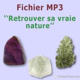 retrouver sa vraie nature avec les pierres et cristaux