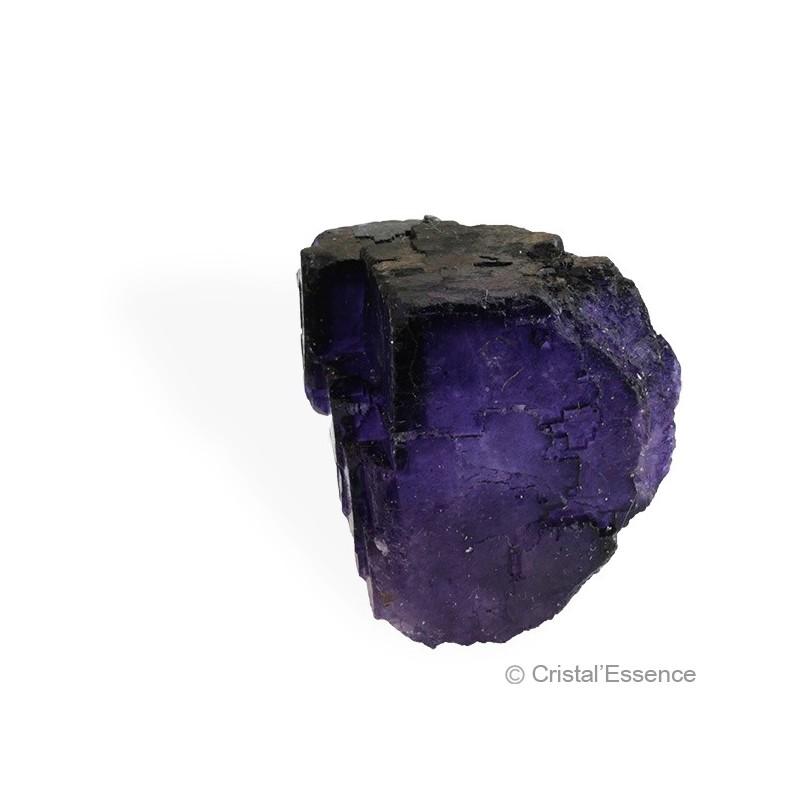 Fluorite violette, cristaux cubes 2