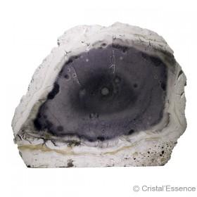 Tiffany (Tiffany stone), forme polie