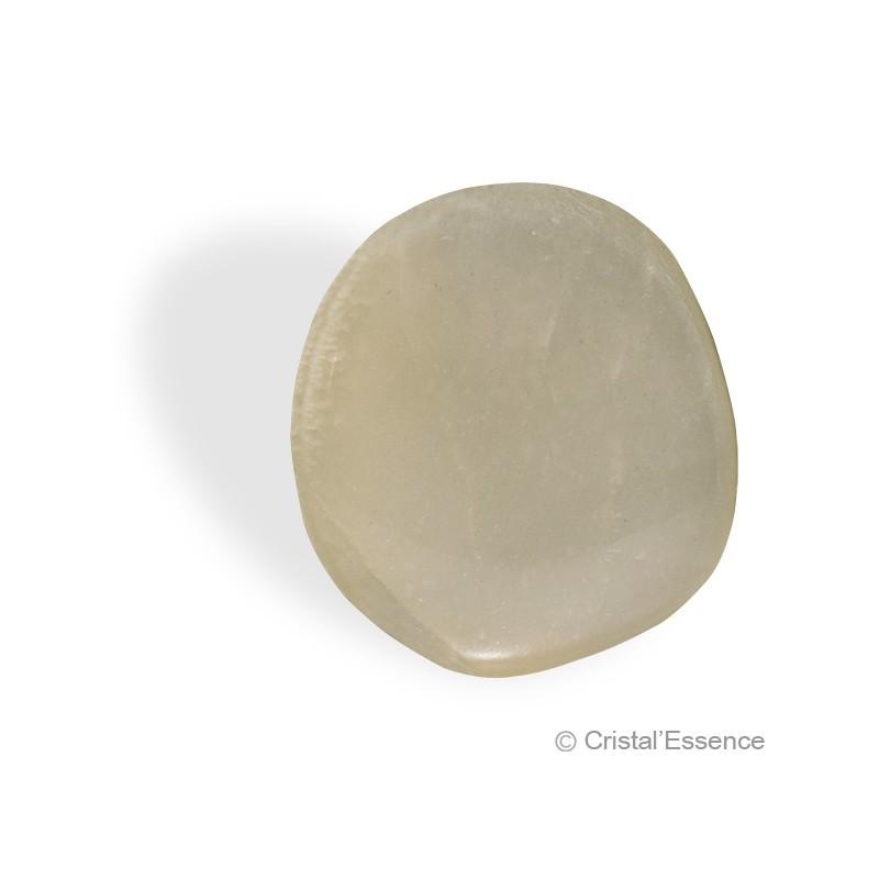 Pierre de Lune, petit galet plat
