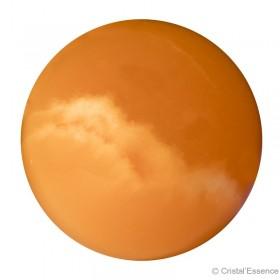 Calcite orange, sphère