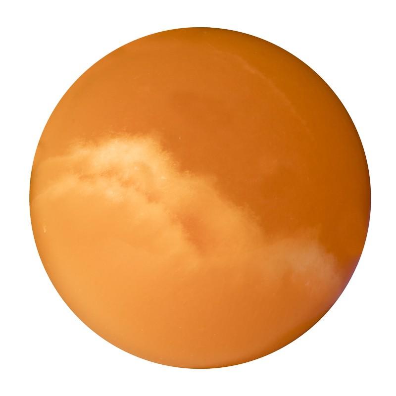 Calcite orange, sphère 2