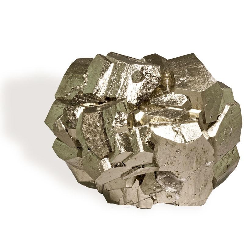 Pyrite,  groupe cristaux 386 g