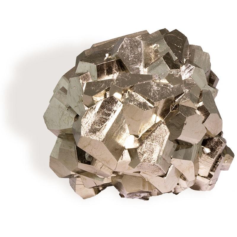 Pyrite,  groupe cristaux, 405g