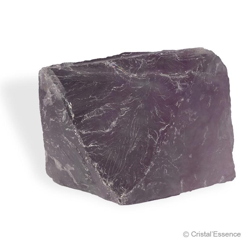 Fluorite, cristal octaédrique naturel