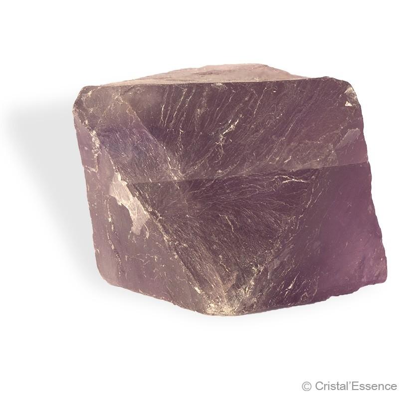 Fluorite, cristal octaédrique naturel 2
