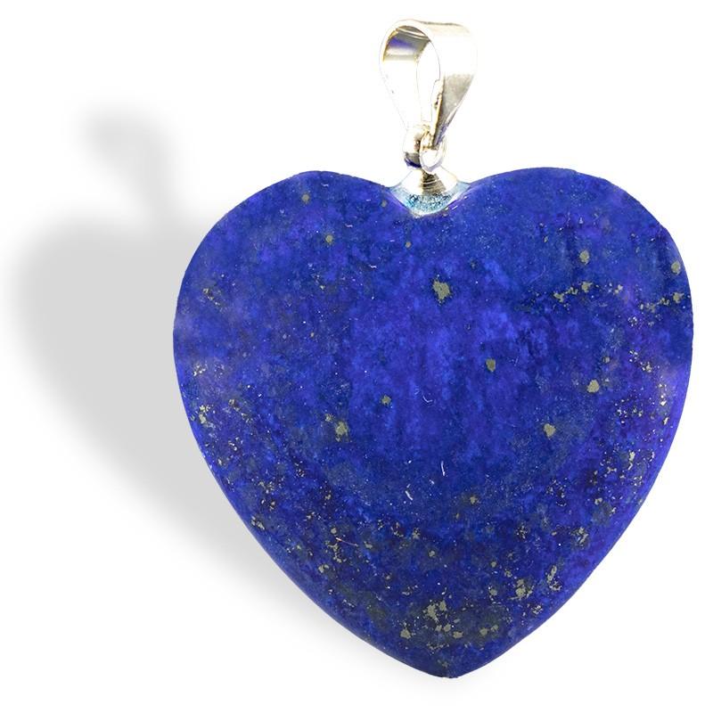 Lapis-Lazuli, pendentif cœur