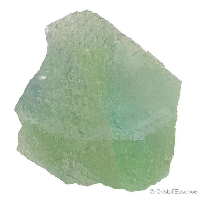 Fluorite vert d'eau, cristallisée