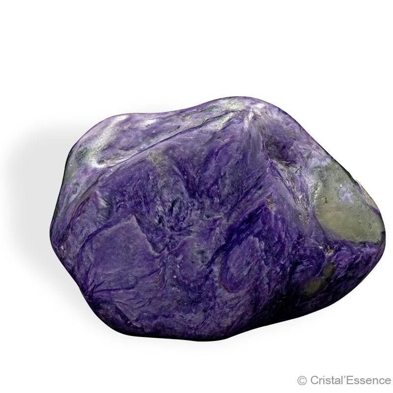 Charoïte, grand morceau poli, 194 g