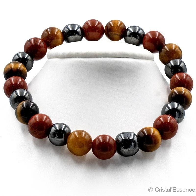 """Bracelet """"Vitalité"""", perles de 6 ou 8 mm"""