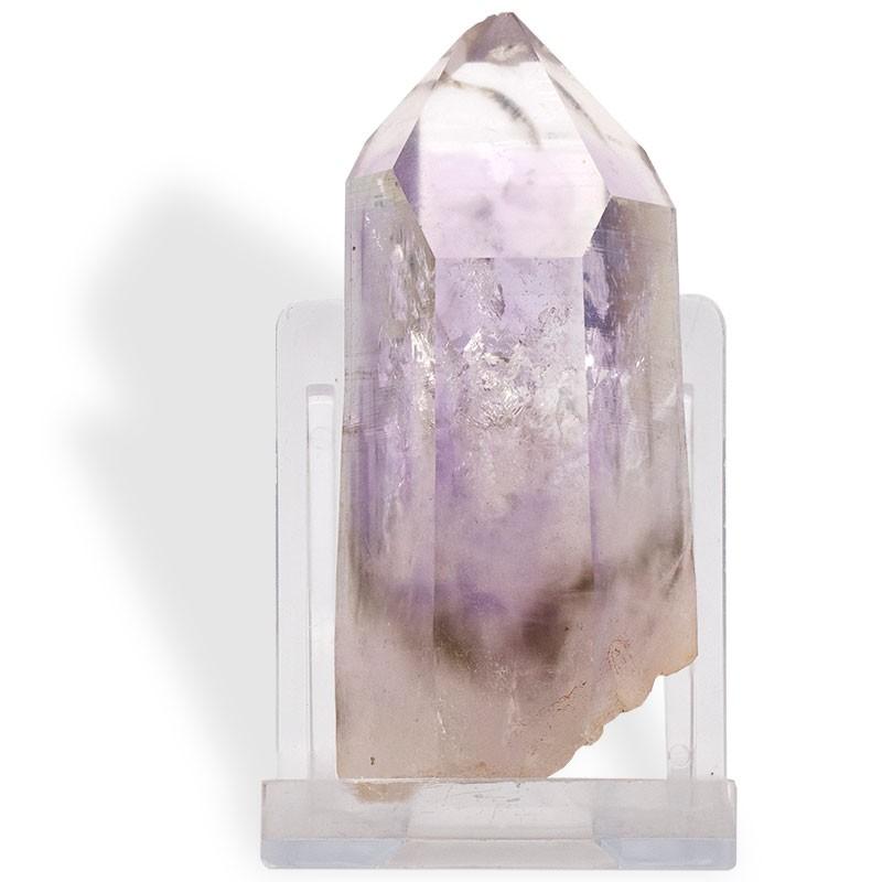 Améthyste de Namibie, grand cristal, 87 g