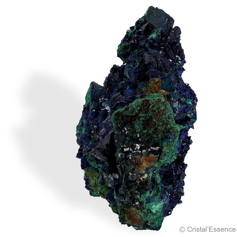 Azurite cristallisée, petit bloc 139 g