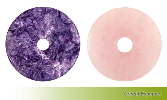 Association Charoïte et Quartz rose