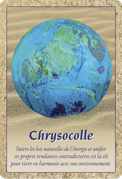 Carte Chrysocolle