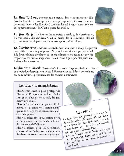 Page 213 livre la quintessence des pierres