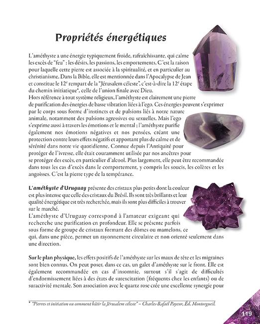 Page 119 livre la quintessence des pierres
