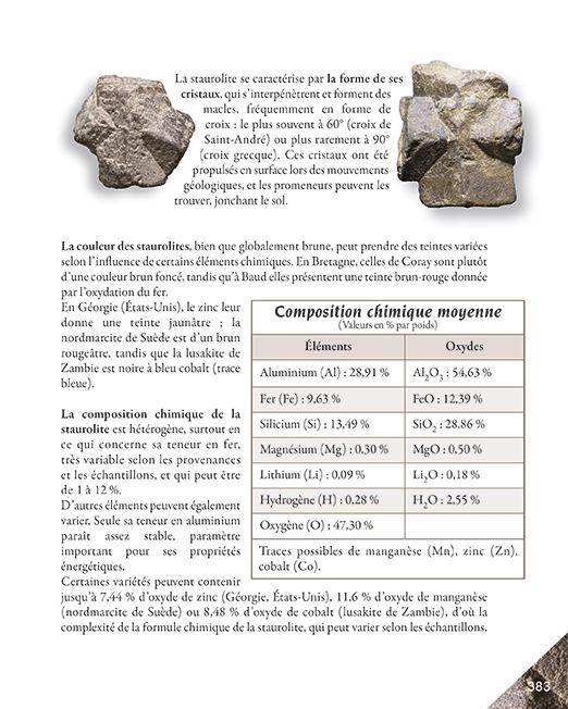 Page 383 livre la quintessence des pierres