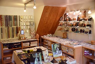 L'intérieur du Showroom